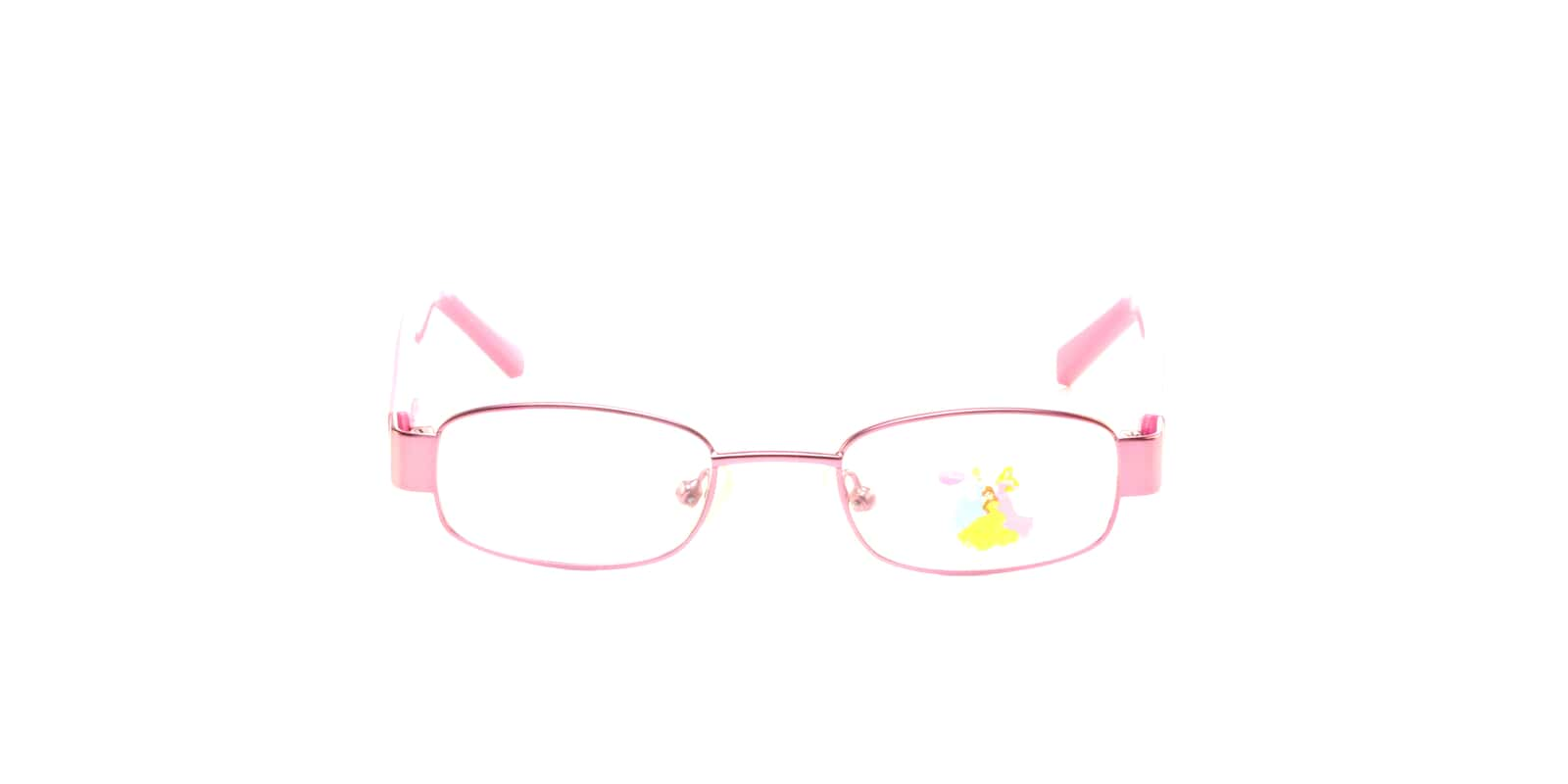 Buy Disney Princess DP9003 BELLE-Pink (39) Glasses | Disney Princess ...
