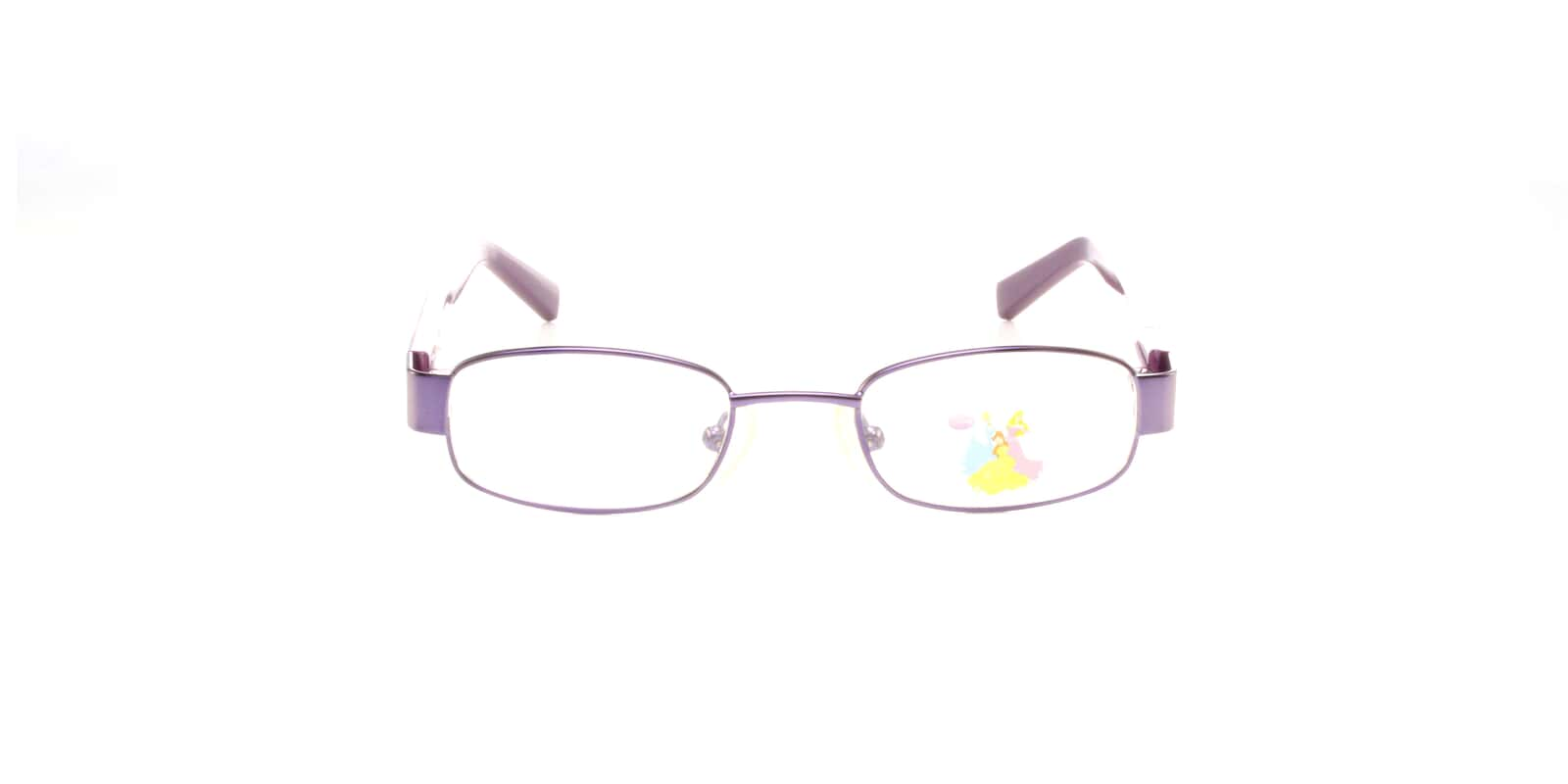 Buy Disney Princess DP9003 S. BEAUTY-Purple (39) Glasses | Disney ...